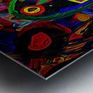 Abstract Bird Metal print
