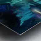 Future Noir - Abyss City Metal print