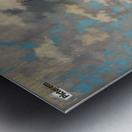 Sommer im Fjord Metal print