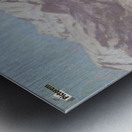 A view of Como Metal print