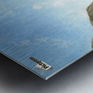 View of a Fjord Metal print
