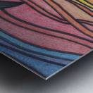 Twilight Wave  Metal print