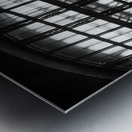 Between Dimensions Metal print