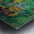 1975 world series program cover leroy neiman wall art Metal print