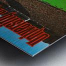 retro arkansas razorbacks football fayetteville razorback stadium photo Metal print