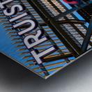 Truist Park   The Battery Atlanta GA 6718 Metal print