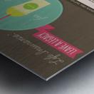 Infographic Metal print