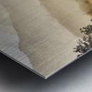 Misty Hills Metal print