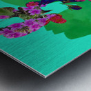Floral Collage Metal print
