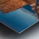 Lumiere sur le Rocher Perce Metal print