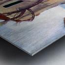 Modigliani - Tree and House Metal print