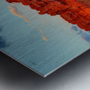 THE MAGIC OF SUNSET IN UTAH Metal print