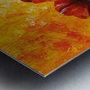 Red Poppies 006 Metal print