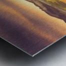 Peaceful Sunset At The Lake Metal print