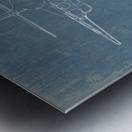 b1 Metal print