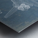 spaceshuttle Metal print