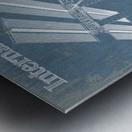 SpaceStation Metal print