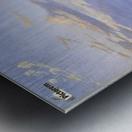 Landskab ved Arreso Metal print