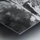 Ice tongue Metal print