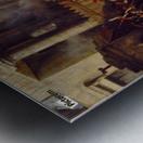 La Barriere de Clichy Metal print