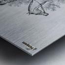 At hunt Metal print