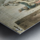 Entourage de Antoine Metal print