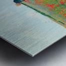 Poppy in the field by Cassatt Metal print