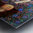 Portrait of Emily Floge by Klimt Metal print