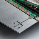 Impressions of Southwark Bridge Metal print