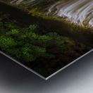 The Sgwd Isaf Clun-gwyn waterfall Metal print