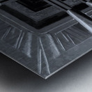 oben oder unten  Metal print