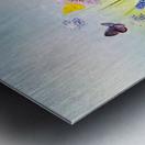 Spring meadow Metal print
