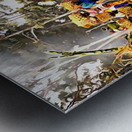 Funeral Feast Procession Bali Metal print