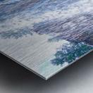 Standing in the Waterfalls Metal print