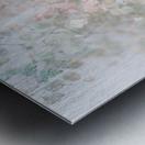 Daltana Pastel Floral Aera Metal print