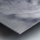 Givre Metal print
