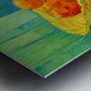 Six Oranges by Van Gogh Metal print