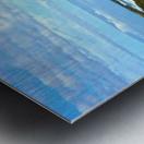 Blue Day Panorama Metal print