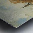 The verdronken oord with the Accijnstoren, Alkmaar Metal print