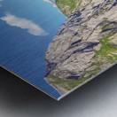 Deep in the Swiss Highlands Metal print