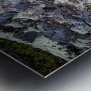 Purple Rocks ap 2289 Metal print