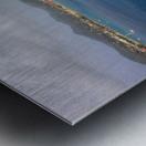 Tall ships at anchor Rodney Bay Landscape Metal print