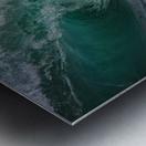 Wave Curl ap 2681 Metal print