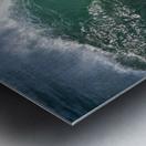 Wave Curl ap 2668 Metal print