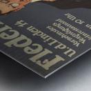 Fledermaus Metal print