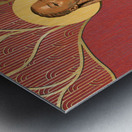 The Curve Metal print