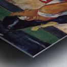 Tahitian Women on Beach by Gauguin Metal print