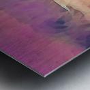 winter sky lavender Metal print