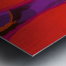 Violet Shape Metal print