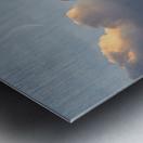 Sunrise Alignment Metal print